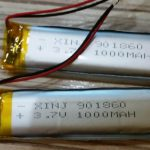 Replacement a battery of XP Deus using an one with bigger capacity